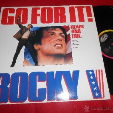 Discos de vinilo: JOEYB.ELLIS AND TYNETTA HARE GO FOR IT! (CLUB MIX) +2 12 MX 1990 CAPITOL BSO OST ROCKY V. Lote 54553411