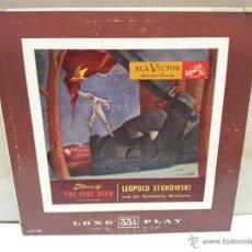 Discos de vinilo: STRAVINSKY THE FIRE BIRD SUITE VER FOTOS. Lote 54557273