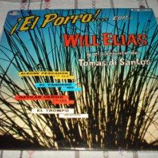 Discos de vinilo: ¡EL PORRO!... CON WILL ELIAS. Lote 54557331