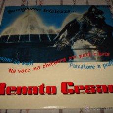 Discos de vinilo: RENATO CESARI EP BUONGIORNO TRISTEZZA. Lote 54557456