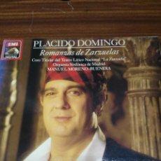 Discos de vinilo: PLACIDO DOMINGO - ROMANZAS DE ZARZUELAS. Lote 54560785