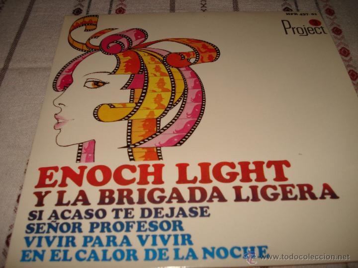 ENOCH LIGHT Y LA BRIGADA LIGERA (Música - Discos de Vinilo - EPs - Bandas Sonoras y Actores)