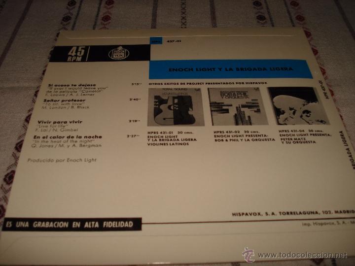 Discos de vinilo: ENOCH LIGHT Y LA BRIGADA LIGERA - Foto 3 - 54561656