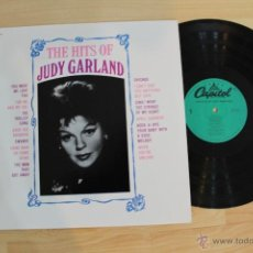 Discos de vinilo: THE HITS OF JUDY GARLAND LP CAPITOL RECORDS MADE IN USA. Lote 54564059