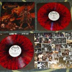 Discos de vinilo: SABBAT - ASIAN DEMONSLAUGHT - 2XLP [HIGH ROLLER RECORDS, 2009 · SPLATTER VINYL · LIM 66] BLACK METAL. Lote 54567252