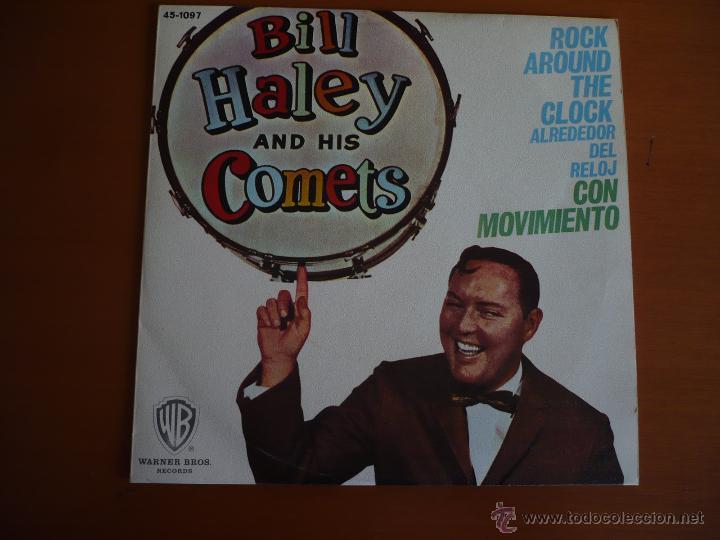 BILL HALEY AND HIS COMETS REED. 1974 (Música - Discos de Vinilo - Maxi Singles - Pop - Rock Internacional de los 70)