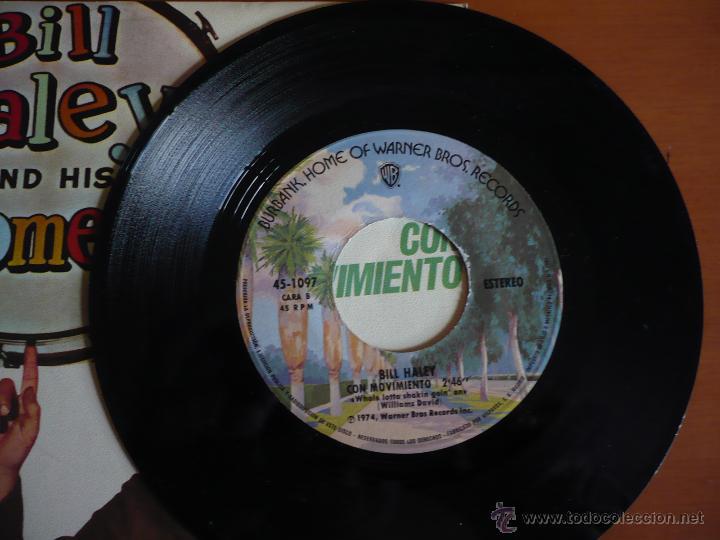 Discos de vinilo: BILL HALEY AND HIS COMETS REED. 1974 - Foto 3 - 54572183