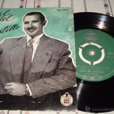 Discos de vinilo: RAUL DEL CASTILLO - QUE NO PUEDE SER. Lote 54572325