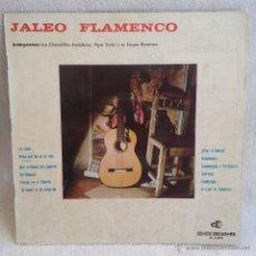 Discos de vinilo: DISCO LP DOBLE PORTADA JALEO FLAMENCO, VINILO DE DISCOGRAMA 1964.. Lote 54574655