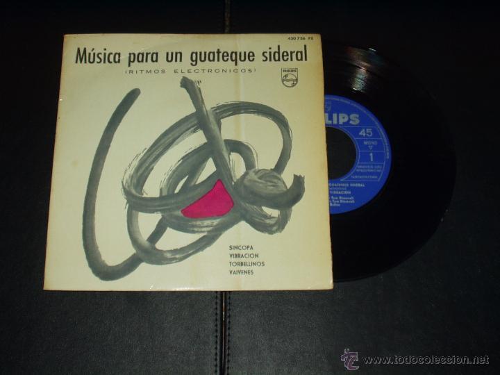 TOM DISSELVET EP MUSICA PARA UN GUATEQUE SIDERAL (Música - Discos de Vinilo - EPs - Electrónica, Avantgarde y Experimental)
