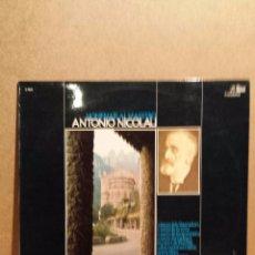 Discos de vinilo: ORFEÓ CATALÀ / HOMENAJE AL MAESTRO ANTONIO NICOLAU. LP / COLUMBIA - 1975. VINILO DE LUJO. ***/****. Lote 54579087