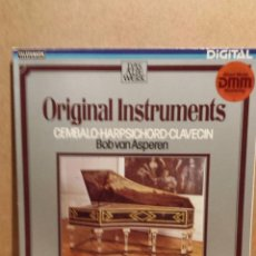 Discos de vinilo: BOB VAN ASPEREN. ORIGINAL INSTRUMENTS. LP / TELEFUNKEN - 1983. / CALIDAD LUJO ****/****. Lote 54579689