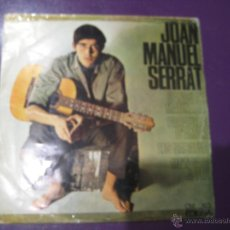 Discos de vinilo: JOAN MANUEL SERRAT EP EDIGSA 1966 CANÇO DE MATINADA/ PARAULES D'AMOR +2 . Lote 54581146