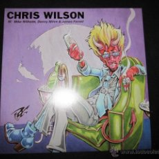 Discos de vinilo: CHRIS WILSON - SYMPATHY FOR THE DEVIL - SN - FLAMIN' GROOVIES,BARRACUDAS,ROLLING STONES.. Lote 109441106