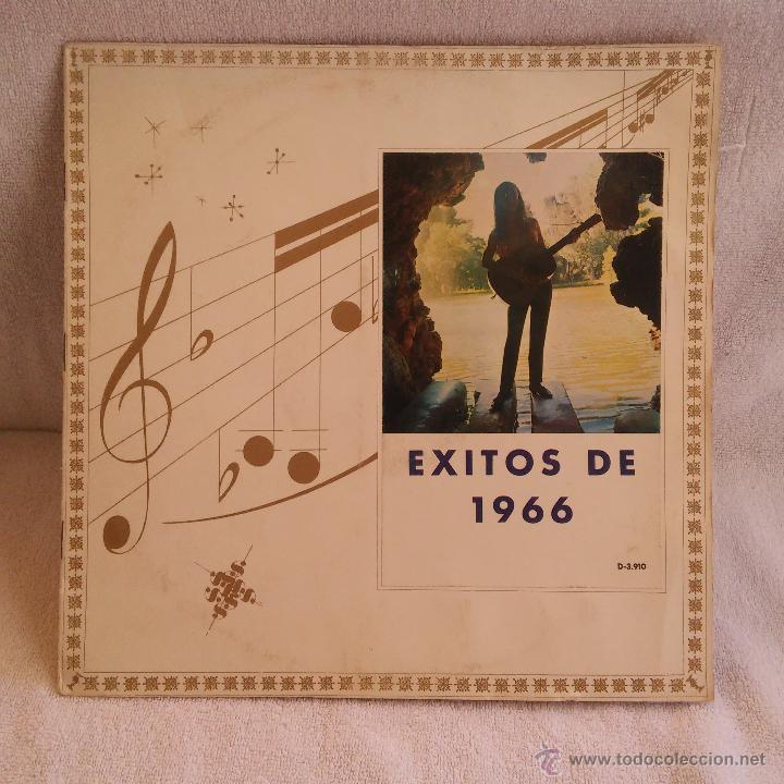 DISCO LP EXITOS DE 1966 DOBLE CARATULA, VINILO DE DISCOGRAMA. (Música - Discos - LP Vinilo - Pop - Rock Extranjero de los 50 y 60)