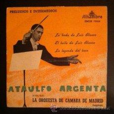 Discos de vinilo: ATAULFO ARGENTA . Lote 54582267