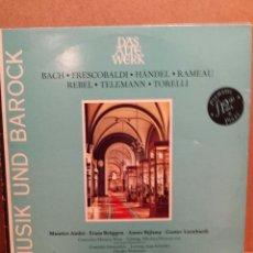 Discos de vinilo: MUSIC UND BAROCK. DAS ALTE WERK. CONCERTO AMSTERDAM. LP / TELEFUNKEN - 1977. MBC. ***/***. Lote 54583344