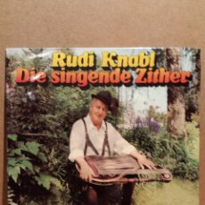 Discos de vinilo: RUDI KNABL. DIE SINGENDE ZITHER. LP / TELEFUNKEN - 1975. MBC. ***/***. Lote 54583363