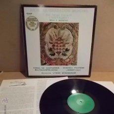 Discos de vinilo: JUAN ANTONIO GARCÍA DE CARRASQUEDO. MISA Y MOTETES. LP / ETNOS 1982. BC. ***/**. Lote 54587692