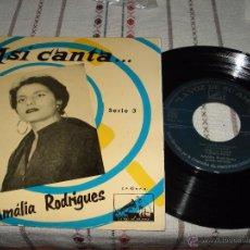 Discos de vinilo: ASI CANTA AMALIA RODRIGUES - FALLASTE CORAZON. Lote 54588004