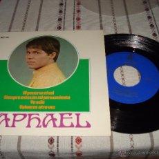 Discos de vinilo: RAPHAEL AL PONERSE EL SOL. Lote 54588135