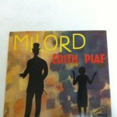 Discos de vinilo: EDITH PIAF - MILORD (1959). Lote 54588338