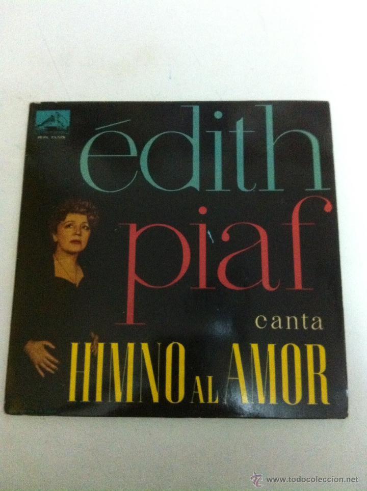 ÉDITH PIAF - HIMNO AL AMOR (1960) (Música - Discos de Vinilo - EPs - Canción Francesa e Italiana)