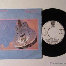 Vinyl records - DIRE STRAITS * WALK OF LIFE * ONE WORLD * SINGLE VERTIGO 1985 - 54591667