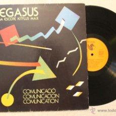 Discos de vinilo: PEGASUS ARISA ESCOTE KITFLUS MAX COMUNICACION LP 1983. Lote 54595182