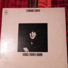 Discos de vinilo: DISCO - LEONARD COHEN - SONGS FROM A ROOM - DEPOSITO LEGAL M 28924 - 1970 - HECHO EN ESPAÑA. Lote 54597170