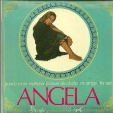 Discos de vinilo: ANGELA EP SELLO DUENDE AÑO 1970 EDITADO EN ESPAÑA . Lote 54597604