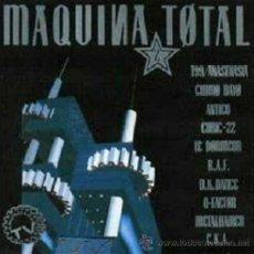 Discos de vinilo: MÁQUINA TOTAL 2 (CHIMO BAYO Y OTROS) LP DE 1991. Lote 207227506