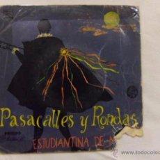Discos de vinilo: SINGLE. PASACALLES Y RONDAS. PHILIPS. Lote 54602159