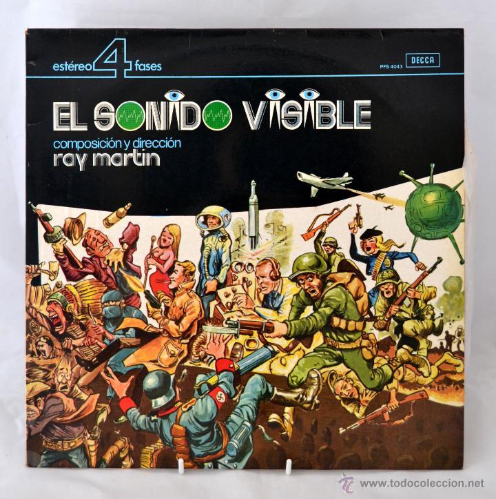LP EL SONIDO VISIBLE DE RAY MARTIN * ESTERO 4 FASES * DECCA (Música - Discos - LP Vinilo - Orquestas)