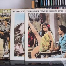 Discos de vinilo: ELVIS PRESLEY - THE PARADISE HAWAIIAN STYLE SESSIONS \ 3 LP - RARE - TCB RECORDS, 1989.. Lote 54605648