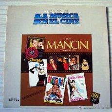 Discos de vinilo: MUSICA, LP´S, LP DISCO VINILO BANDA SONORA PELICULAS HENRY MANCINI ORQUESTA, MUSICA CINE, FOLLETO. Lote 54605690