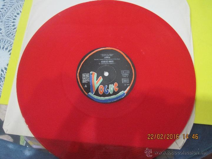Discos de vinilo: ABBA-VOULEZ-VOUS- MAXI SINGLE -VINILO ROJO FRANCES- RARO!!!! - Foto 4 - 54606483