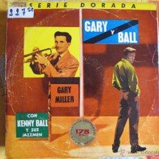 Discos de vinilo: LP - GARY MILLER CON KENNY BALL Y SUS JAZZMEN - GARY Y BALL (SPAIN, PYE RECORDS 1963). Lote 54611861