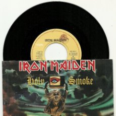 Discos de vinilo: IRON MAIDEN. HOLY SMOKE (VINILO SINGLE1990). Lote 54615091
