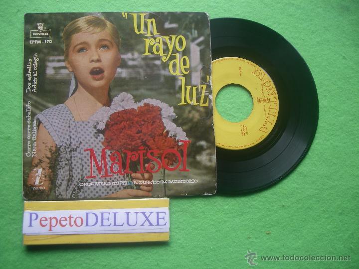 MARISOL UN RAYO DE LUZ EP SPAIN 1960 PDELUXE (Música - Discos de Vinilo - EPs - Solistas Españoles de los 50 y 60)