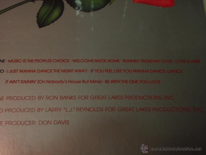 Discos de vinilo: THE DRAMATICS ( 10 1/2 ) CALIFORNIA-USA 1980 LP33 MCA RECORDS - Foto 2 - 1886206