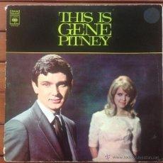 Discos de vinilo: GENE PITNEY - THIS IS GENE PITNEY . DOBLE LP . CBS AUSTRALIA . Lote 54630786