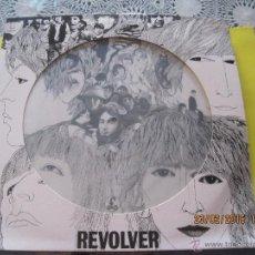 Discos de vinilo: BEATLES- REVOLVER- PICTURE DISC CON PORTADA TROQUELADA EDIC. USA. Lote 54631175