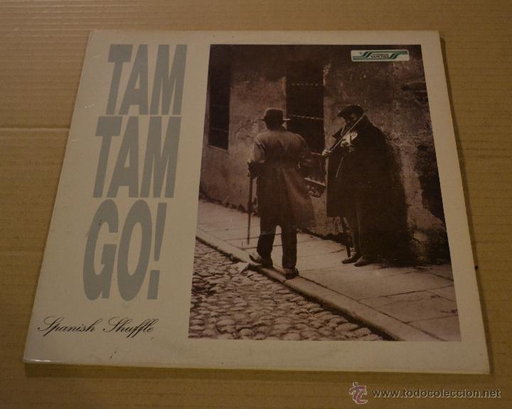 TAM TAM GO! SPANISH SHUFFLE. MAXI SINGLE. TWINS 1988. LITERACOMIC. (Música - Discos de Vinilo - Maxi Singles - Grupos Españoles de los 70 y 80)