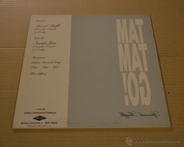Discos de vinilo: TAM TAM GO! SPANISH SHUFFLE. MAXI SINGLE. TWINS 1988. LITERACOMIC. - Foto 2 - 54634763