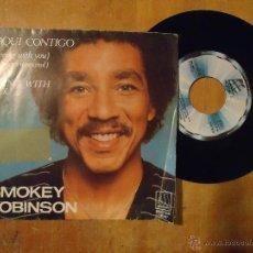 Disques de vinyle: SINGLE - DISCO VINILO PEQUEÑO - SMOKEY ROBINSON. Lote 54640923