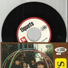 Discos de vinilo: TIQUETS EP VOLVERÁ + 3.1997.ANIMAL RECORDS. Lote 54641103
