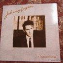 Discos de vinilo: JOHNNY LOGAN- LP DE VINILO- TITULO HOLD ME NOW-CON 10 TEMAS- ORIGINAL DEL 87- NUEVO A ESTRENAR. Lote 54646844