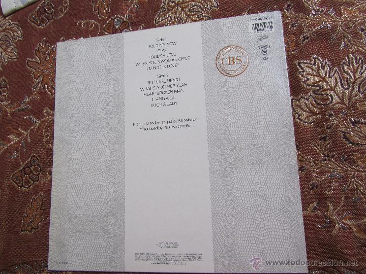 Discos de vinilo: JOHNNY LOGAN- LP DE VINILO- TITULO HOLD ME NOW-CON 10 TEMAS- ORIGINAL DEL 87- NUEVO A ESTRENAR - Foto 2 - 54646844