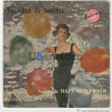 Discos de vinilo: SEXTETO DE HAZY OSTERWLAD. REBELD´ROUSER. HISPAVOX 1959. Lote 54648459